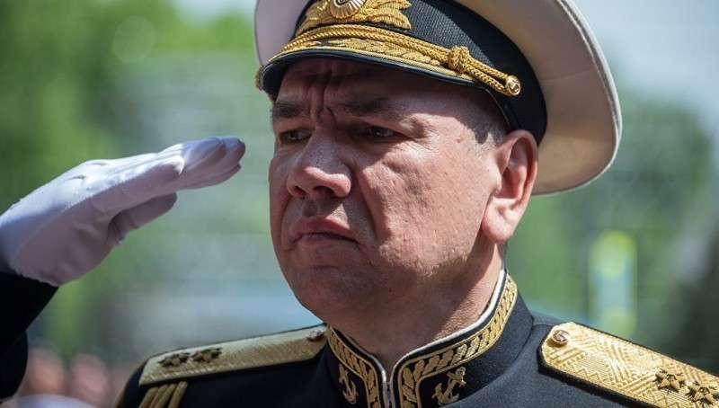 Вице-адмирал Александр Моисеев стал командующим Черноморским флотом
