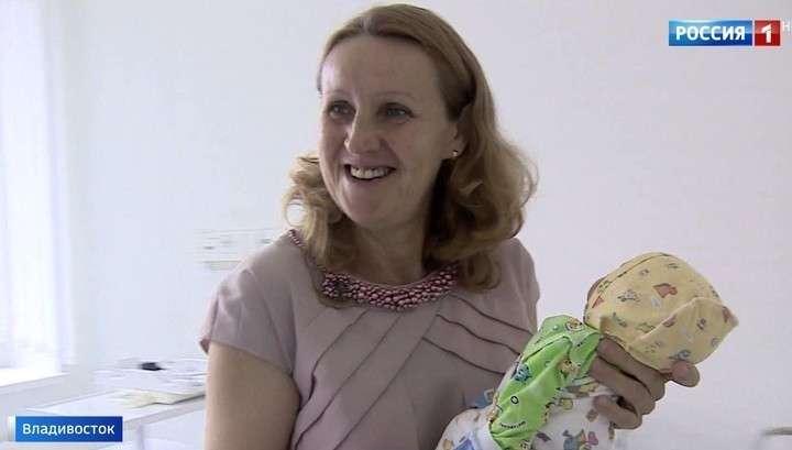 Без оглядки на возраст: жительница Владивостока родила тройню в 51 год