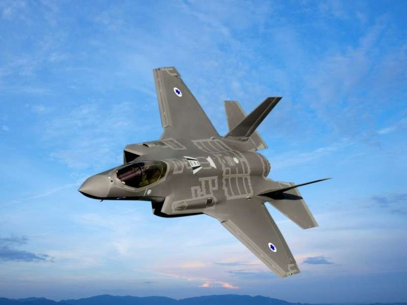 Три американских F-35 кое-как доковыляли до Израиля