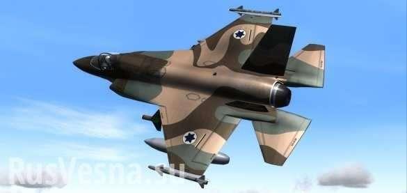 Израильские террористы нанесли ракетный удар по Дамаску | Русская весна