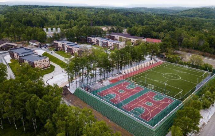 НаСахалине после реконструкции открыли детский спортивный лагерь «Восток»