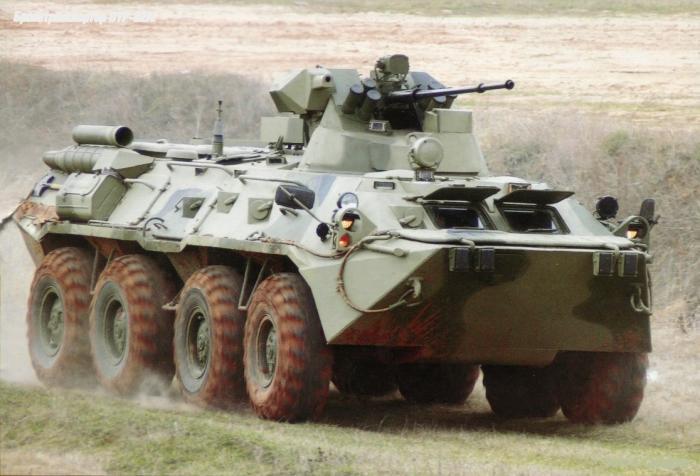 Российскиевойска получили 60 БТР 82А в рамках Гособоронзаказа