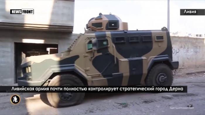 Ливийская армия зачистила стратегический город Дерна от американских наёмников