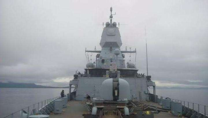 Немецкий фрегат стал жертвой американской зенитной ракеты