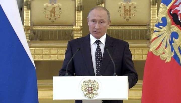 Россия сделала настоящий прорыв в области разработки нового оружия – Владимир Путин