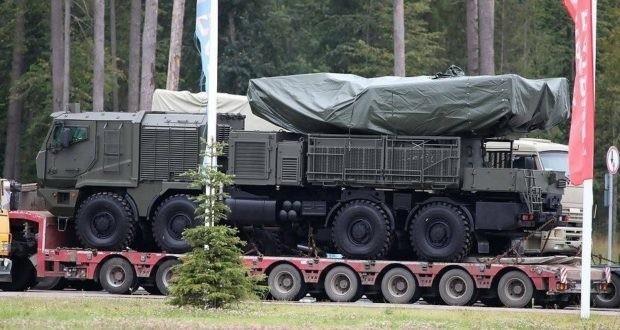 Новый российский «Панцирь-СМ» замечен вАлжире