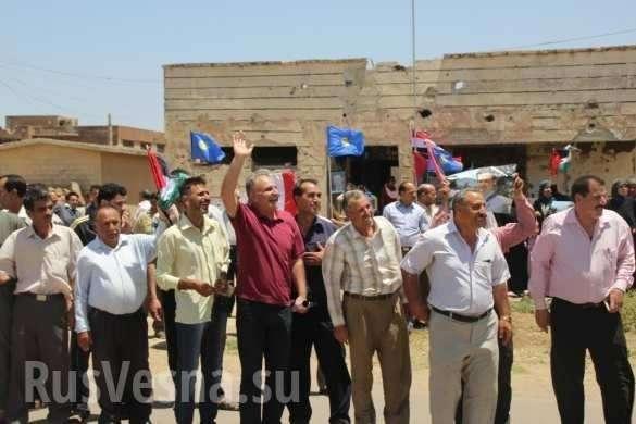 В Сирии ликвидирован котёл исламистов: военные РФ и Сирии празднуют с бывшими боевиками | Русская весна