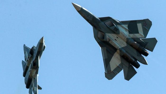Министерство обороны России заключило контракт на поставку истребителей Су-57