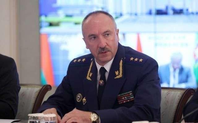 Генпрокурор Белоруссии Александр Конюк