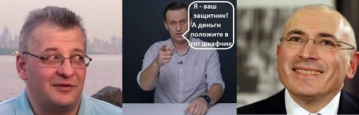 Жулик Навальный защитит «скважинную жидкость» афериста Ходорковского