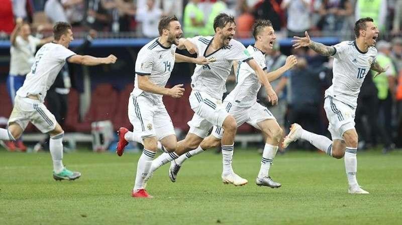 Россия победила Испанию и вышла в четвертьфинал Чемпионата мира по футболу