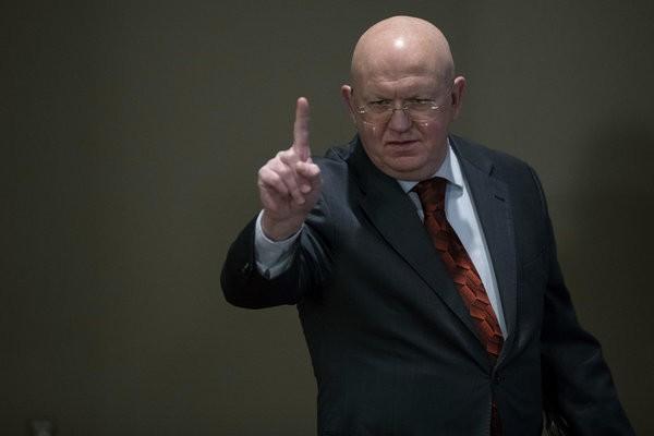 Василий Небензя в ООН отчитал пиндосов, не дав даже выступить их представителю