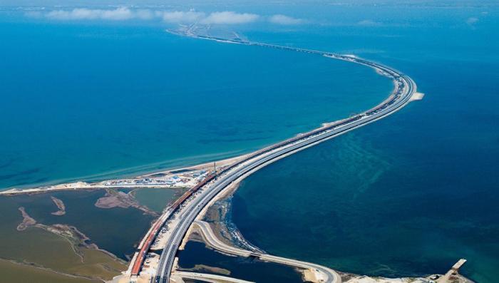 Карты Google. Крымский мост подписан на украинском языке