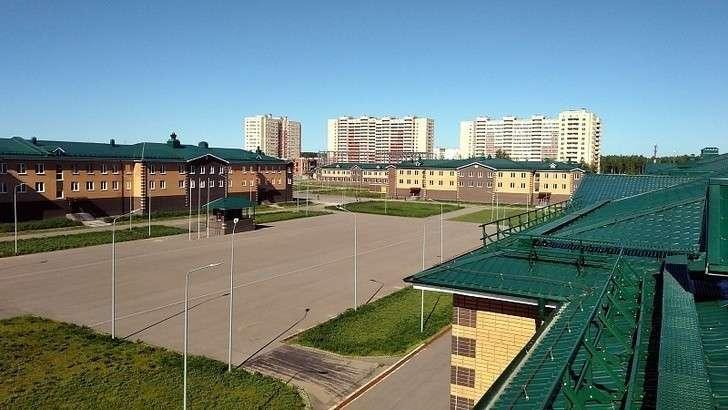 Строительство Центра подготовки военнослужащих вМосковской области