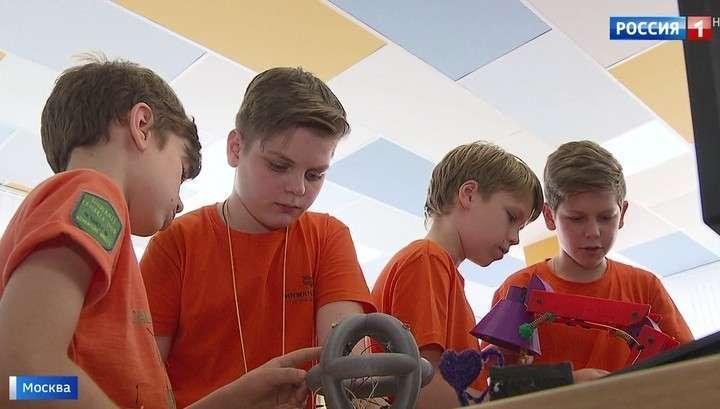 Московские подростки проводят лето в технопарках, осваивая профессии будущего