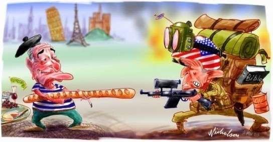 ЕС решил отказаться от военных услуг американских оккупантов