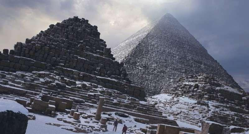 Как пирамиды оказались под песком и кому нужно было их раскапывать?