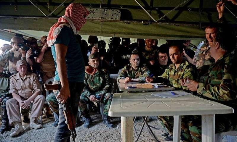 Американские наёмники на юго-западе Сирии просят переговоры о капитуляции