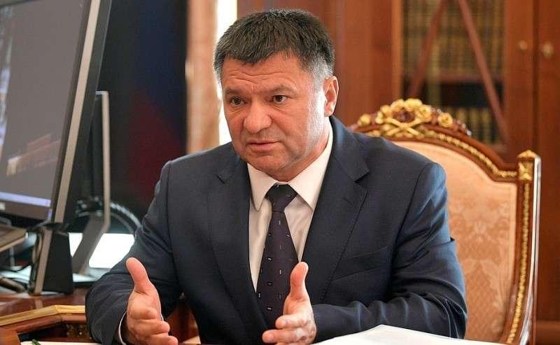 Временно исполняющий обязанности губернатора Приморского края Андрей Тарасенко.