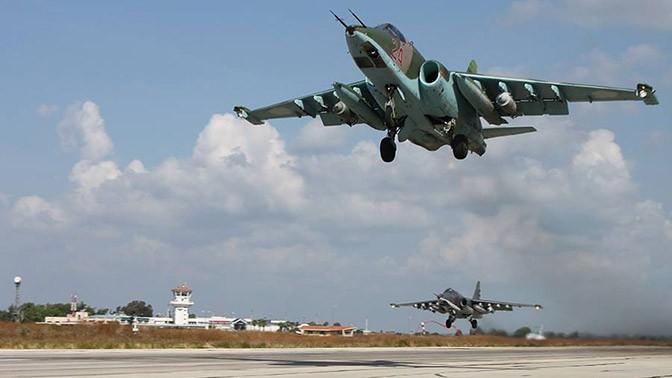 Из Сирии в Россию вернулись шесть штурмовиков Су-25