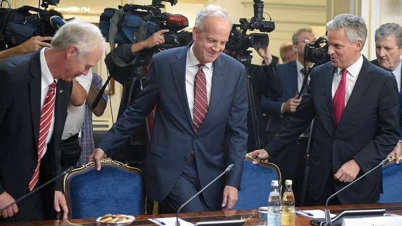 Депутаты Госдумы готовы съездить в Вашингтон