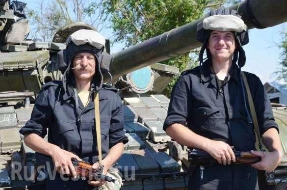 НаДонбассе украинские танки «потопили корабли противника» (+ФОТО, ВИДЕО) | Русская весна
