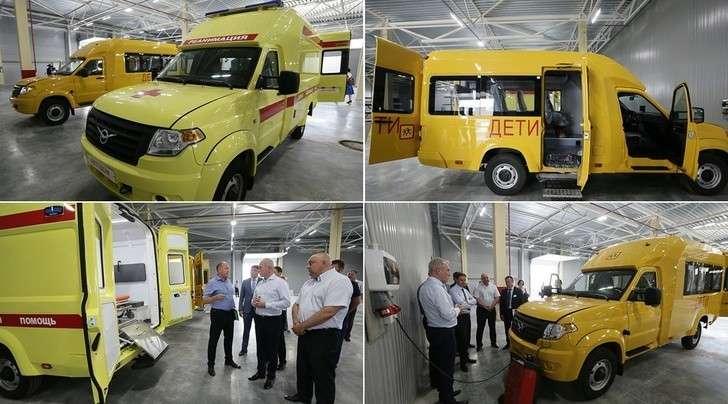 УАЗ готовит преемника «буханки» на базе модели «Профи»