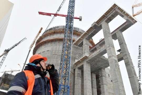 Цены на электричество ставят Литву на колени перед Белорусской АЭС в Островце в Островце