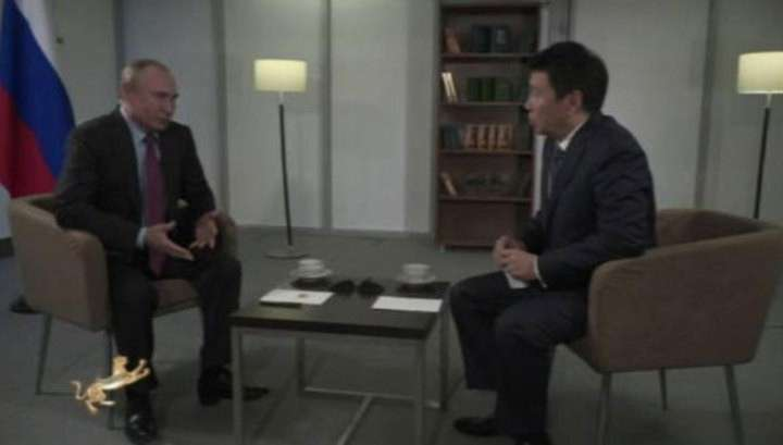 Владимир Путин дал интервью СМИ Казахстана