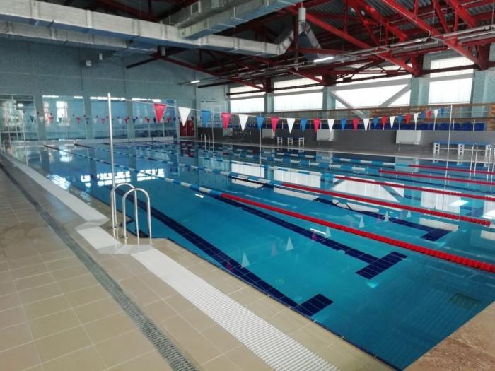 ВЛенинградской области открылся новый спортивный комплекс сбассейном