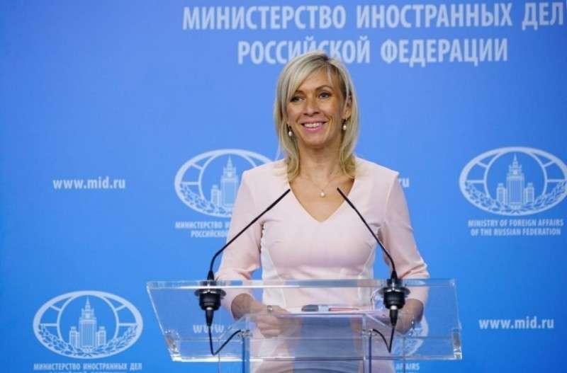 Мария Захарова рассказал о случае с отравлением в британском Эймсбери