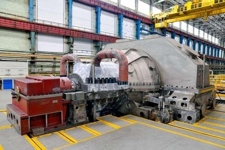 НаМагнитке приступили кмонтажу турбины 50МВт производства УТЗ