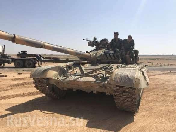 Крах американских наёмников: армии России и Сирии берут под контроль границу с Иорданией | Русская весна