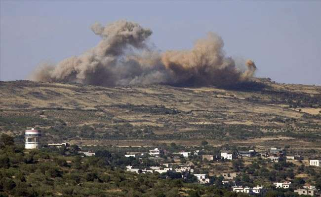 Израильские террористы нанесли ракетный удар по позициям сирийской армии