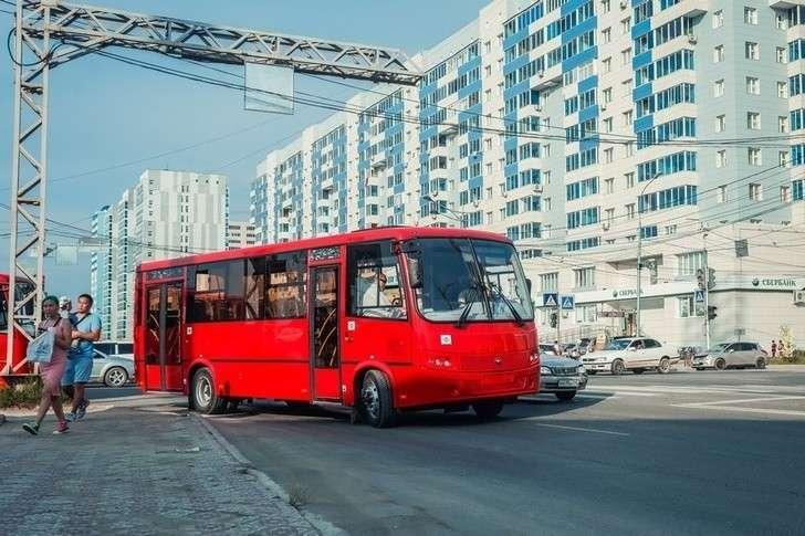 ВЯкутск привезли 20 новых автобусов «Вектор»