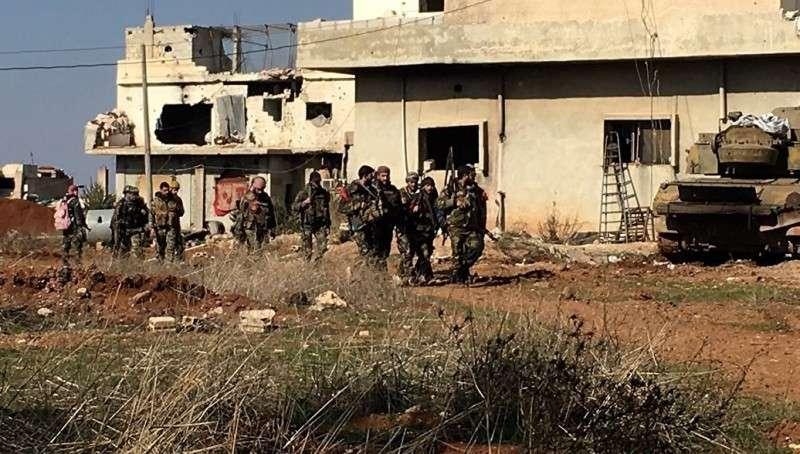 Командиры боевиков в Дераа сдались и перешли на сторону правительства Сирии