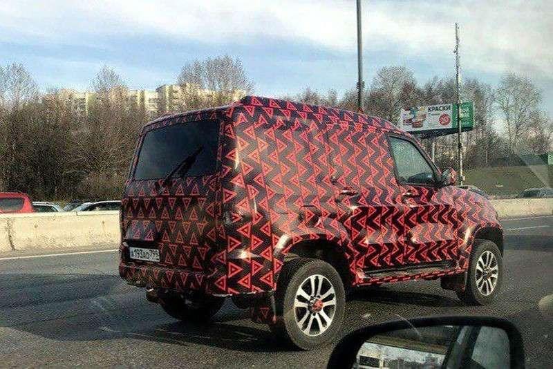 Раскрыта тайна нового загадочного УАЗ «Патриот» в камуфляже