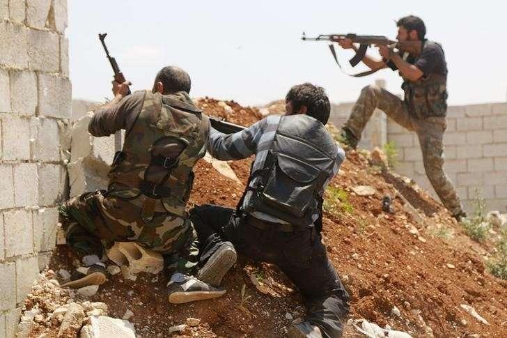 Сирия. Американские наёмники в провинции Дераа, оказались в «котле»