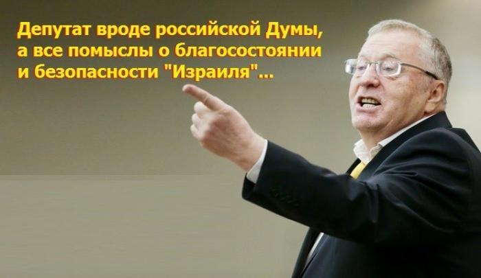 Российско-еврейская Дума: Жириновский заявил, что он патриот Израиля