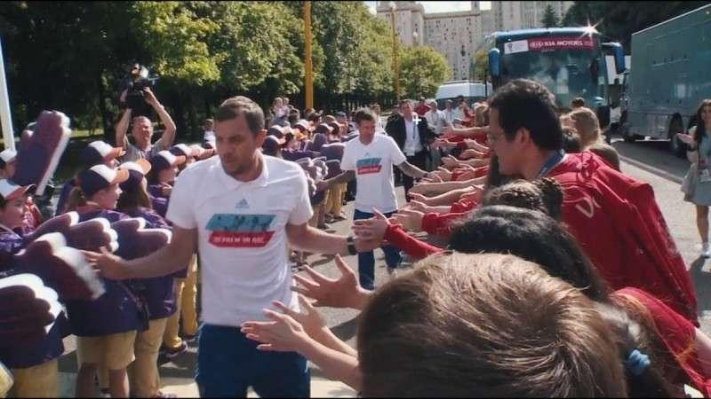 ЧМ-2018: как болельщики встретили футболистов сборной России