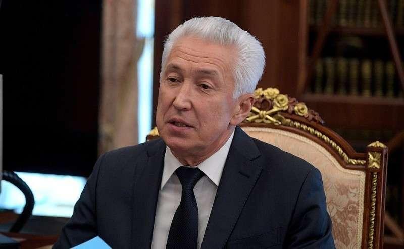 Временно исполняющий обязанности главы Республики Дагестан Владимир Васильев.