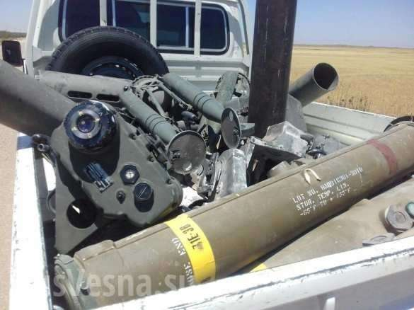 Сирия: наёмники США сдают технику и боеприпасы российским военным и переходят к Асаду | Русская весна