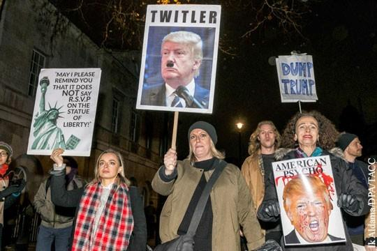 Гостеприимная Британия встречает Дональда Трампа изощренным русским матом