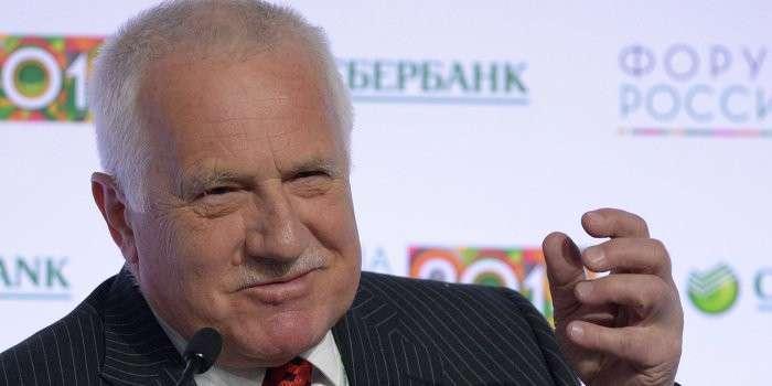 Экс-президент Чехии: Европа откровенно врёт про Россию