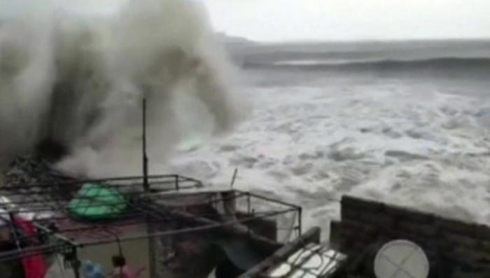 В Китае свирепствует тайфун «Мария», эвакуировано почти шестьсот тысяч человек