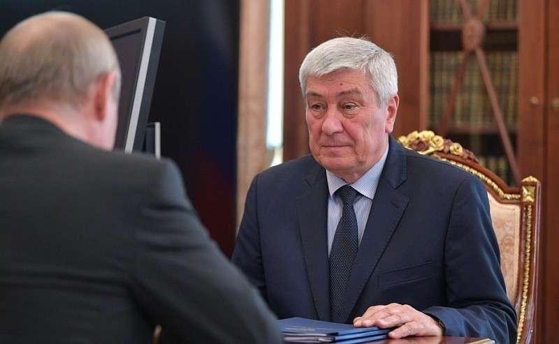 Директор Федеральной службы пофинансовому мониторингу Юрий Чиханчин.