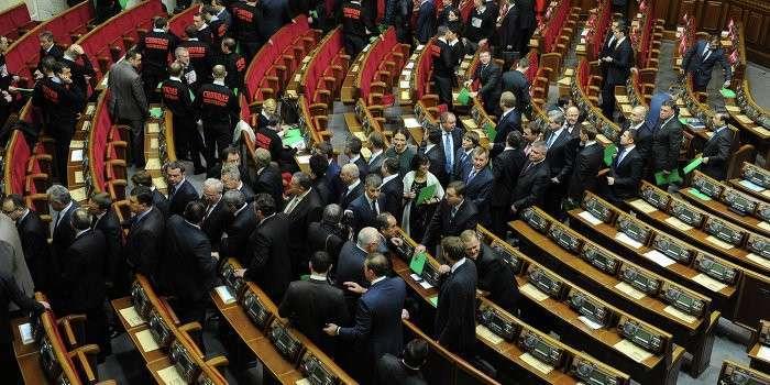 Укро-демократия: За визит в Госдуму РФ украинским депутатам грозит тюрьма