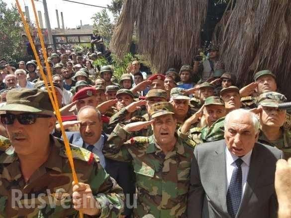 Боевики сдали русским военным «колыбель революции» на юге Сирии | Русская весна