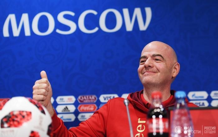 Президент ФИФА назвал ЧМ-2018 в России лучшим во всей истории