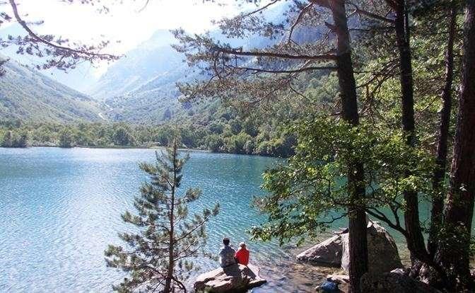 На фото: Третье Бадукское озеро